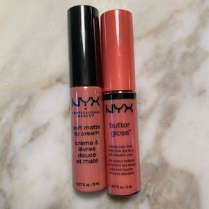 💕 Bundle 3 for 10💞 Unopened NYX lip gloss